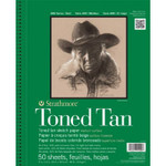 "341771, Toned Sketch - 400 Series, Tan,  9""x 12"" 50 sheets per pad"
