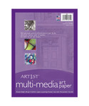 "314335, Art1st Multi Media Paper, 9"" x 12"",  500/"