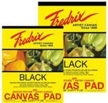 "365032, Fredrix Canvas Pads, Black, 16""x20"""