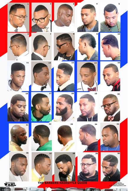 ... - Barber Shop Posters African American Haircuts 3 Barber Shop Poster