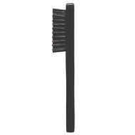 Clipper Cleaning Brush Black Wood Handle