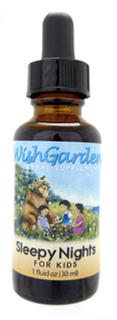 Wish garden herbs sleepy time sleep tonic for kids
