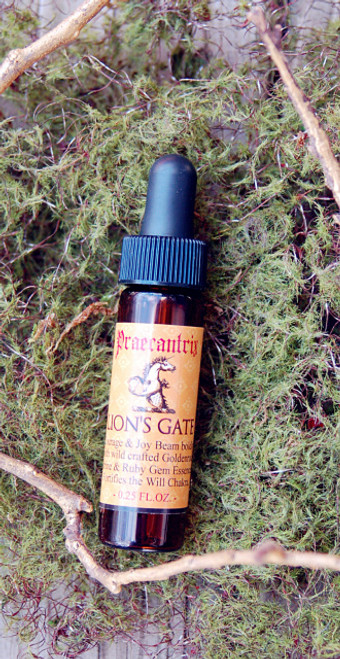 "Lion's Gate: ""Your Portal to Courage"" from Highest Self Elixirs- 1/2 oz."