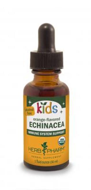 Kids Echinacea, orange flavored, by Herb Pharm - 1oz