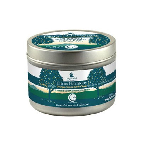 Citrus Harmony Candle (travel size) from Way Out Wax