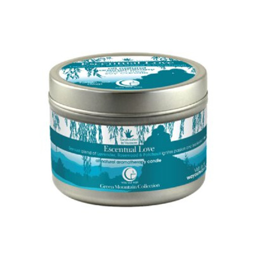 Escentual Love Candle (travel size) from Way Out Wax