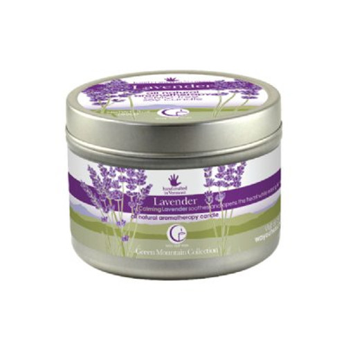 Lavender Candle (travel size) from Way Out Wax