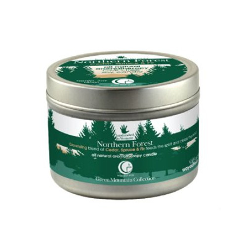 Northern Forest Candle (travel size) from Way Out Wax