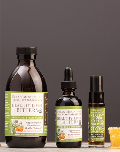 Healthy Liver Bitters, Artichoke Honey, by Urban Moonshine .5 oz