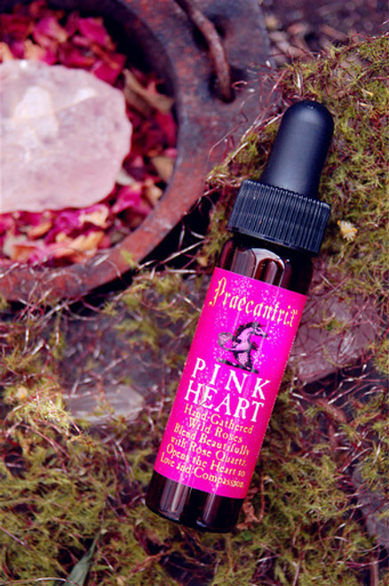"Pink Heart: ""Your Portal To Love"" from HIghest Self Elixir - 1/4 oz."