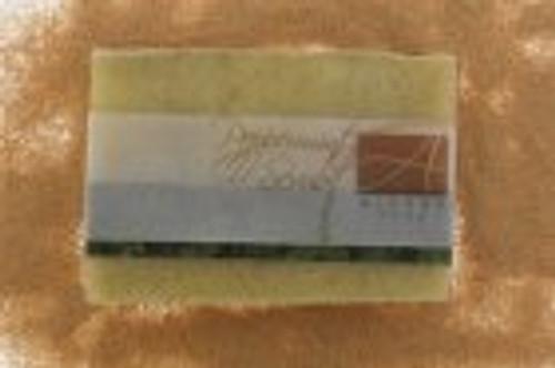 Hand made peppermint scrub soap