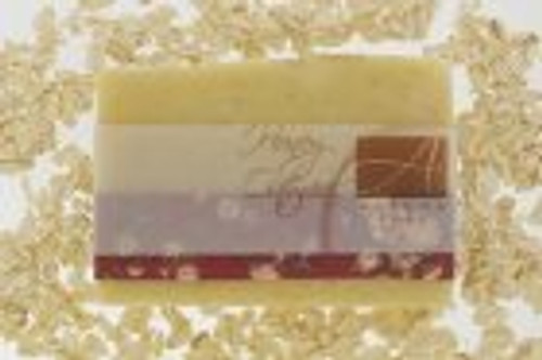 Alegna hand made Honey Oatmeal scent free soap