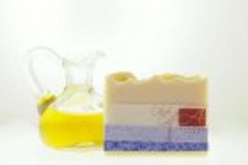 Alegna hand made scent free olive oil soap