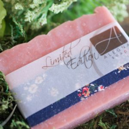 Alegna Patchouli Rose soap