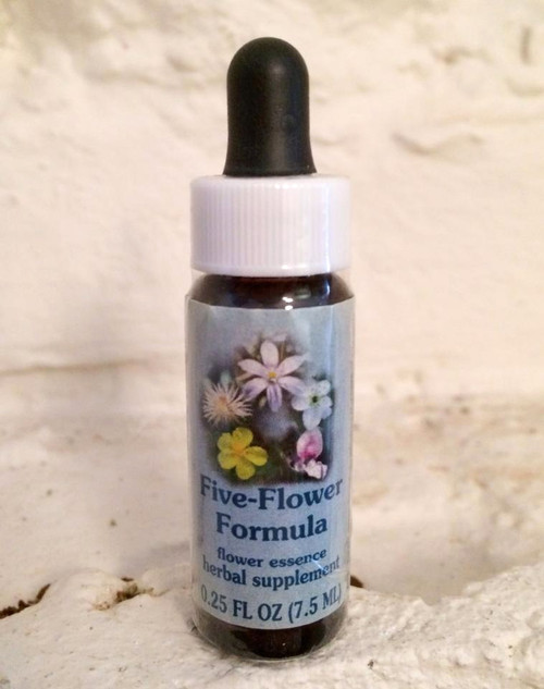 Bach Five Flower Rescue Remedy