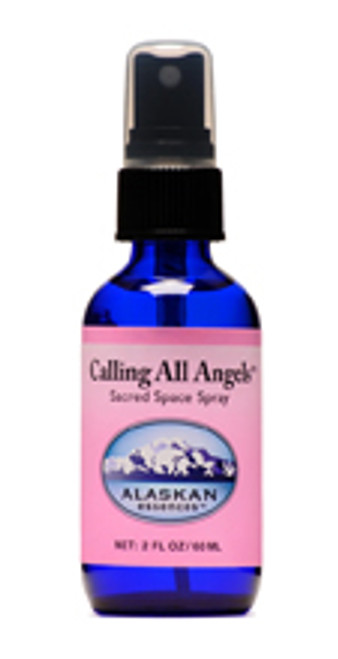 Alaskan Essences Calling All Angels Sacred Space spray, 2oz