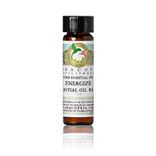 Floracopeia's Energize Blend is an invigorating blend of refreshing essential oils designed for direct inhalation or diffusing in a difuser