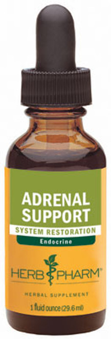 Adrenal Support tonic by Herb Pharm  - 1oz