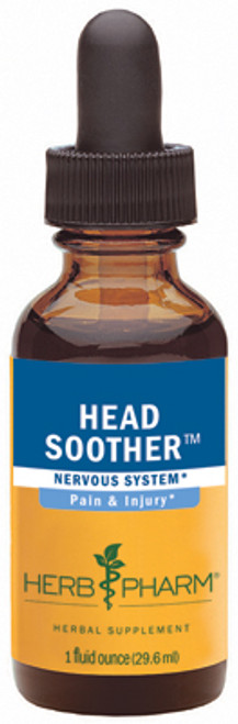 Head Soother compound by Herb Pharm  - 1oz