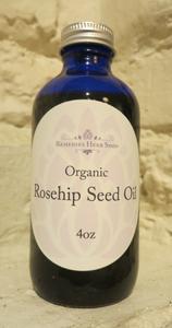 Organic Rosehip Seed Oil, unrefined - 4oz