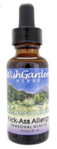WishGarden Kick-Ass Allergy, Seasonal Rescue - 2 oz.