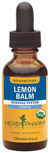 Herb Pharm Lemon Balm Glycerite - 1 oz.