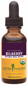 Herb Pharm Bilberry - 1 oz.