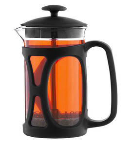 Grosche Basel French Press, black - 800ml