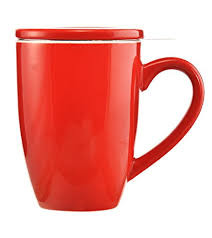 Kassel  Red Tea infuser Mug by Grosche