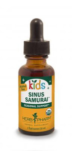 Kids Sinus Samurai by Herb Pharm - 1oz