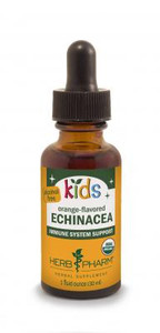 Kids Echinacea, orange flavored, by Herb Pharm - 1oz