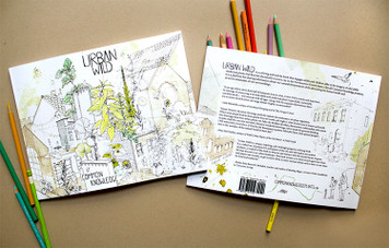 Urban Wild Coloring Book by Common Knowledge