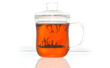 Grosche Kent tea cup with glass infuser 350 ml