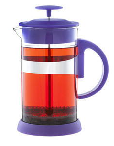 Grosche purple french press single cup 350ml