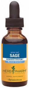 Herb Pharm Sage - 1oz
