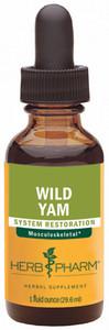 Herb Pharm Wild Yam - 1oz