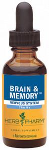 Herb Pharm Brain & Memory tonic - 1oz