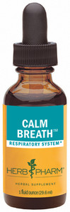 Herb Pharm Calm Breath compound - 1oz