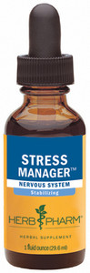Herb Pharm Stress Manager compound - 1oz