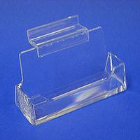 Acrylic Slatwall Business Card Holder