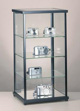 Rectangular Countertop Display with Light