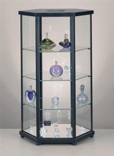 Hex Countertop Display with Light