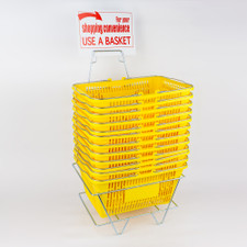 12-Piece Shopping Basket Set
