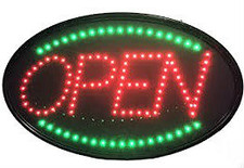 """LED """"OPEN"""" Sign"""