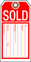 Hold or Sold Tags