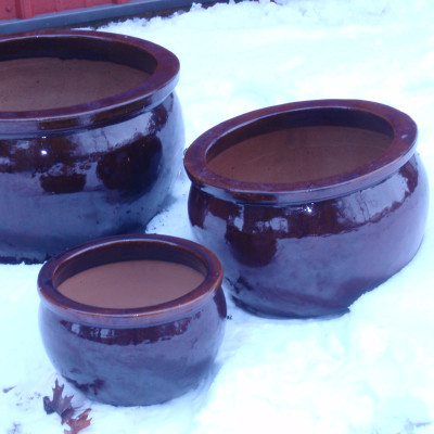 Brown Ceramic Pots