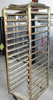 BAKERY OVEN SHEET PAN RACK