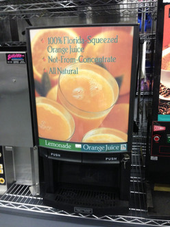 RTS OPERA210 ORANGE JUICE DISPENSER