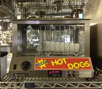 ADCRAFT HOT DOG STEAMER