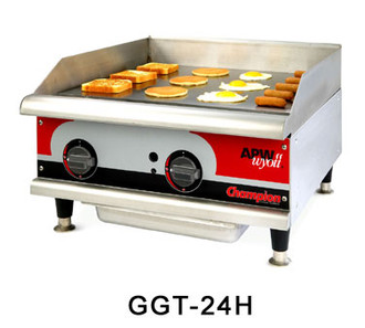 APW 18in THERMOSTATIC GRIDDLE - GAS